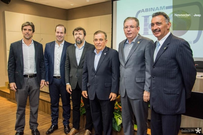 Ruy do Ceara, Cesar Ribeiro, Elcio Batista, Claudio Targino, Ricardo Cavalcante e Artur Bruno