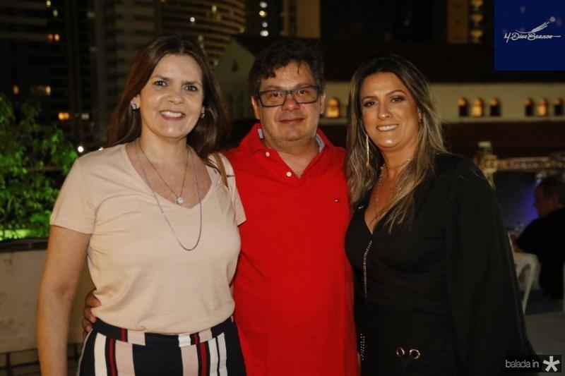 Daniela Bezerra, Eduardo e Adriana Markan
