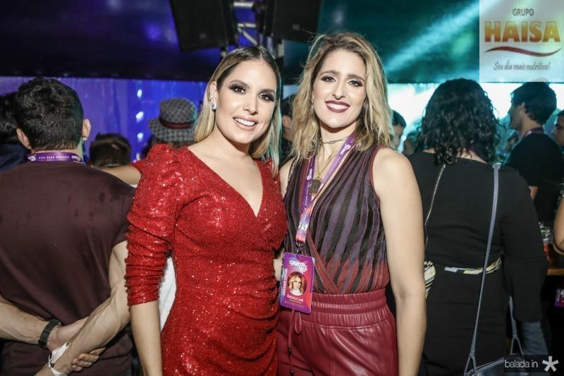 Thyane Dantas e Rebeca Leal
