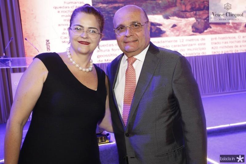 Luciana Dummar e Fernando Cirino