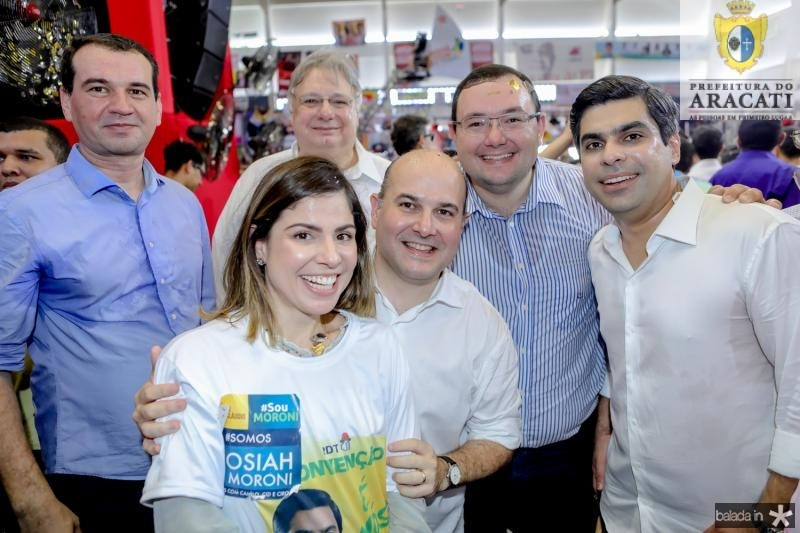 Josbertine Clementino, Carol e Roberto Claudio Bezerra, Moroni e Mosiah Torgan, Queiroz Filho