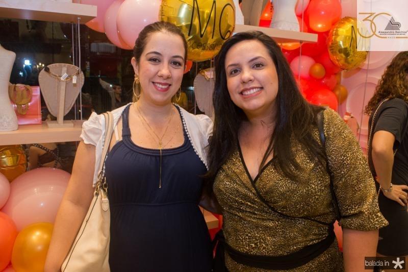 Carolina Pinto e Flavia Silveira