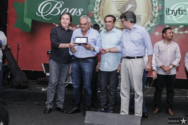 Eunicio Oliveira, Antonio Almeida Lopes, Gaudencio Lucena e Carlos Gualter Lucena