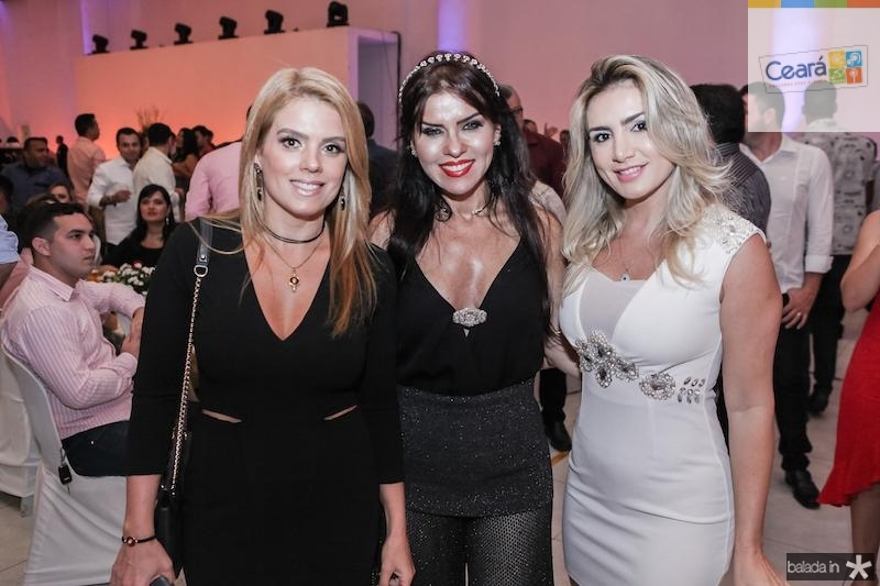 Leticia Studart, Zildinha Pessoa e Jaqueline Maia