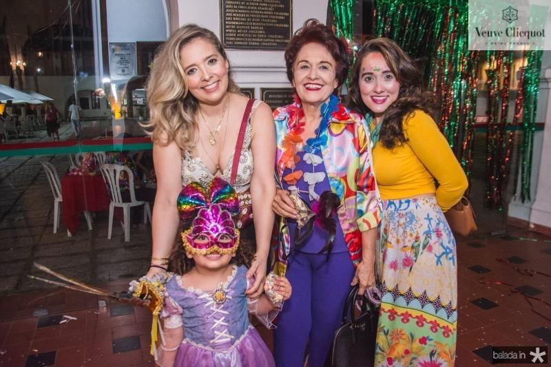 Alida, Geralda, Marta e Clara Magalhaes