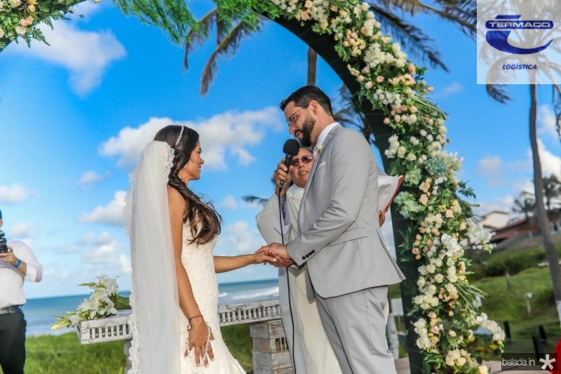 Veruska e Tiago Lobo