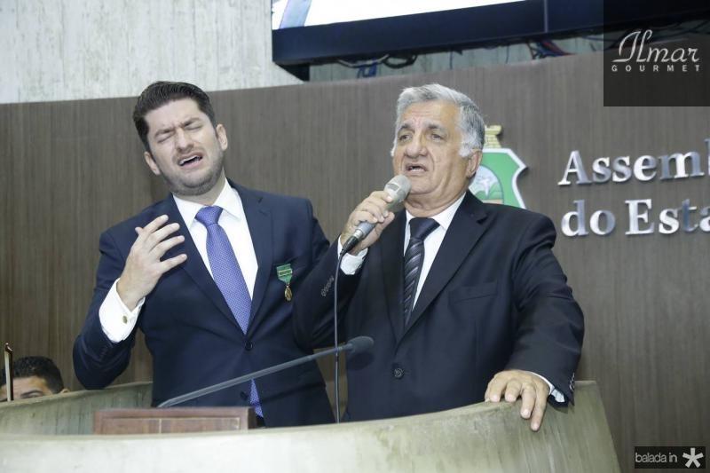 Paulo Jose e Sergio Benevides