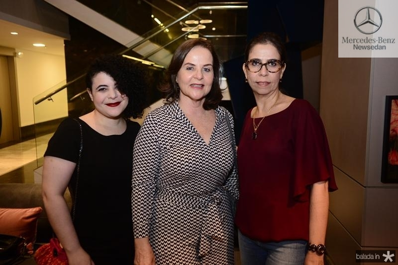 Manoela Elias, Elza Moreira, Aline Almeida