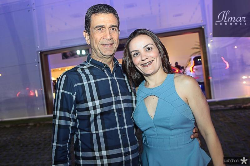 Jose Ximenes e Patricia Loiola