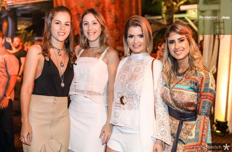 Dani Eloy, Talita Pontes, Claudia Brasil e Tais Fialho