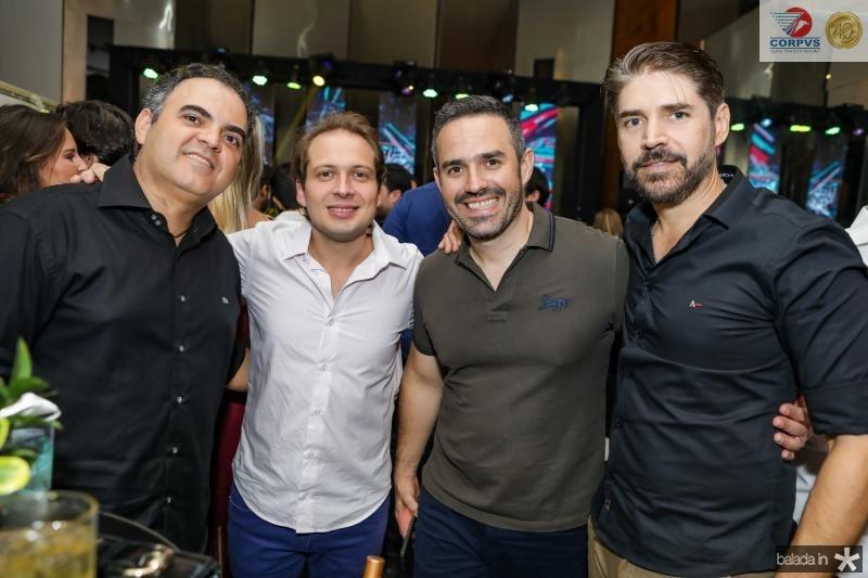 Hebert Vieira, Humberto Cavalcante, Mario Feitosa e Leonardo Brasil