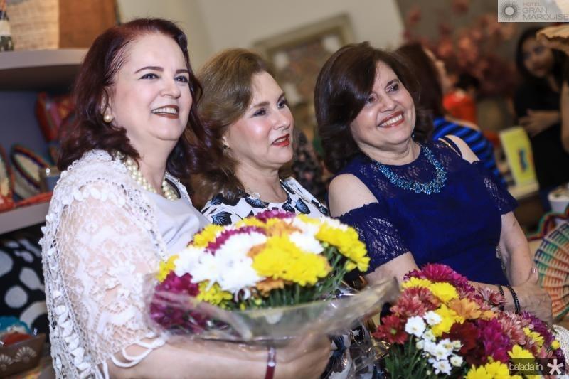 Ethel Whitehurst, Renata Jereissati e Flavia Caracas