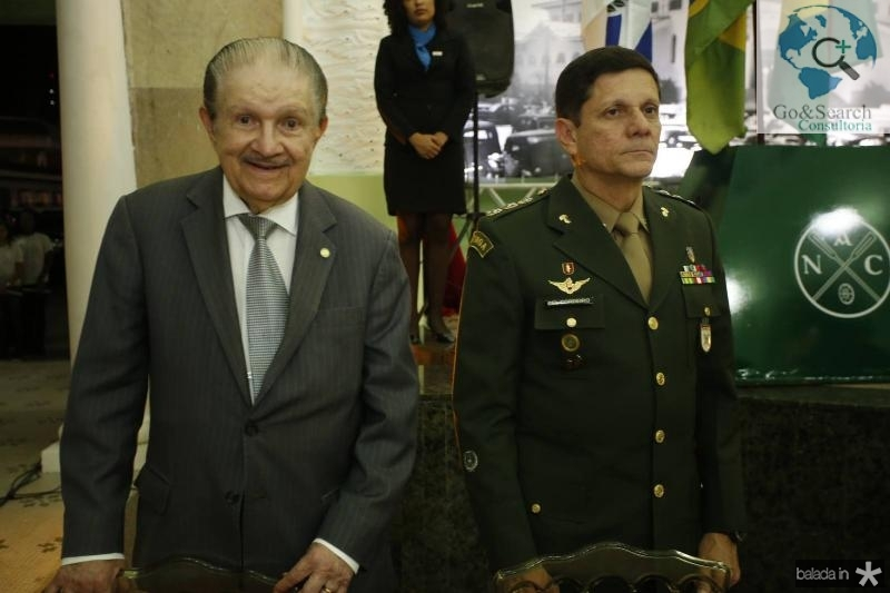 Mauro Benevides e Coronel Jose Cordeiro