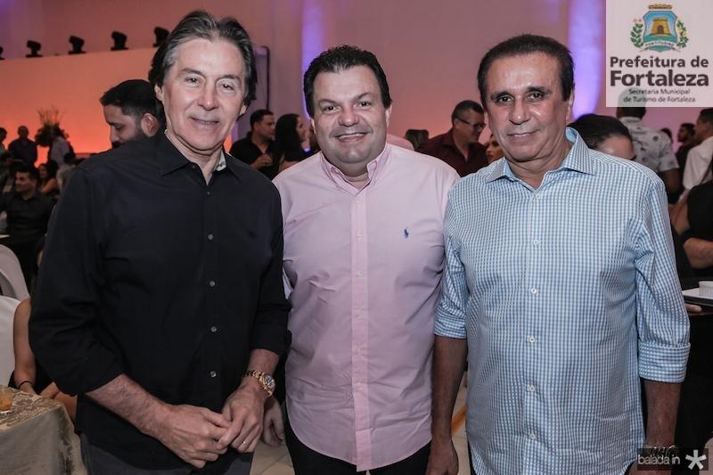 Eunicio Oliveira, Fernando Ferrer e Gaudencio Lucena