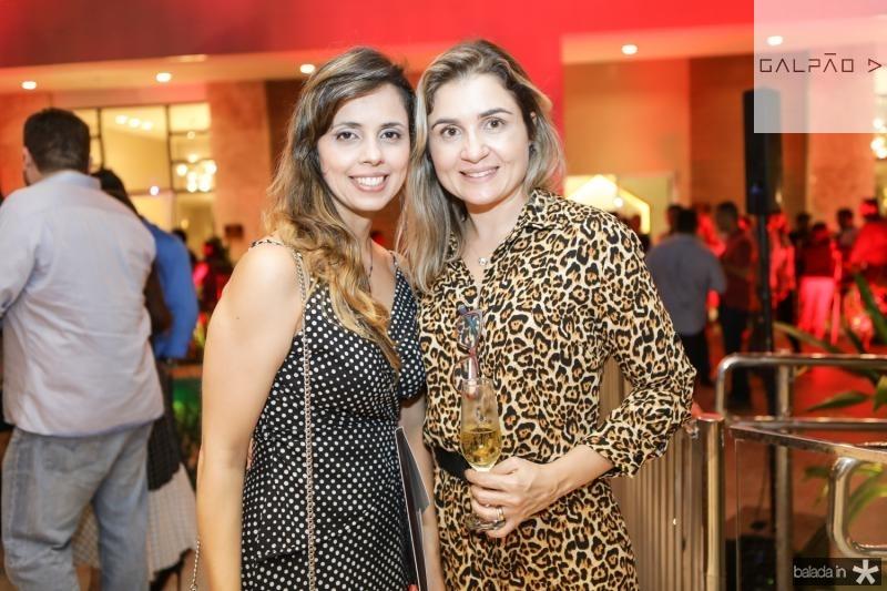 Livia Figueiredo e Nelie Marinho