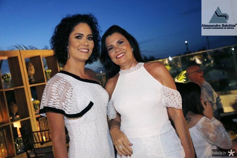 Silvia e Delane Barreto