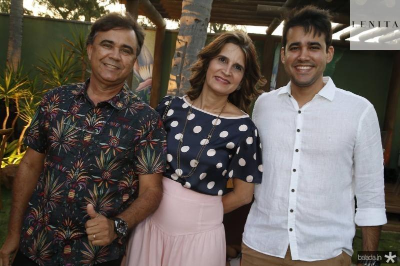 Gilberto Costa, Daniela e Cabral Neto
