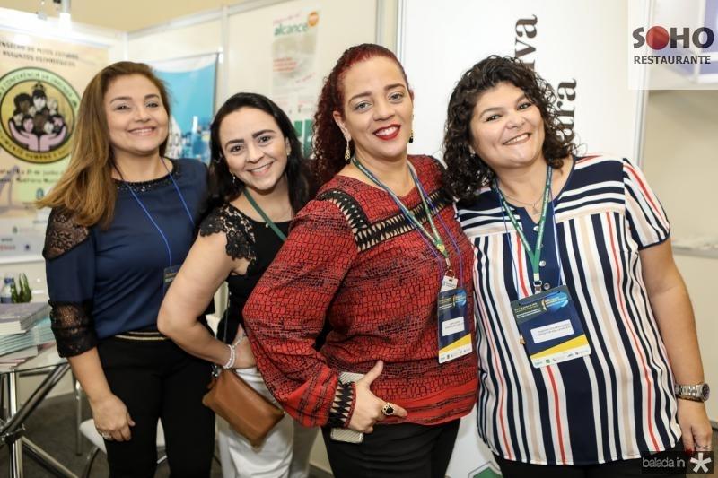 Ivana Flora Teles, Karla Sampaio, Samya Regia e Ana Damaceno