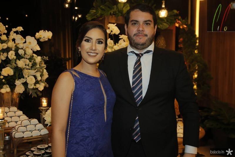 Larissa Coelho e Igor Nogueira