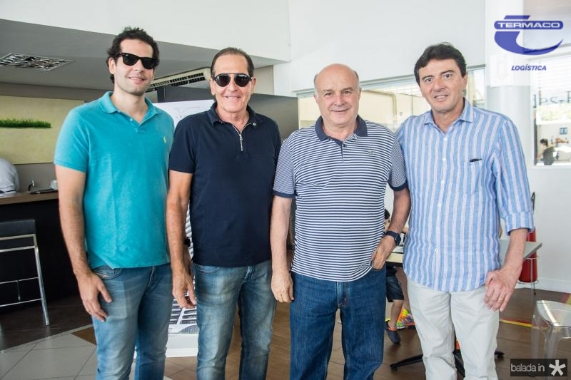 Joao Fiuza, Joao Fiuza, Germano Rocha e Luiz Teixeira