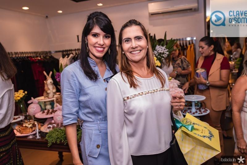 Flavia Laprovitera e Debora Moreira