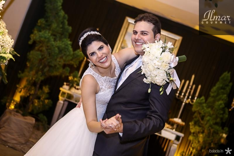 Milena Leite e Daniel Lucena