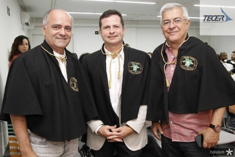 Adriano Vasconcelos, Marcos Andre Borges e PC Noroes