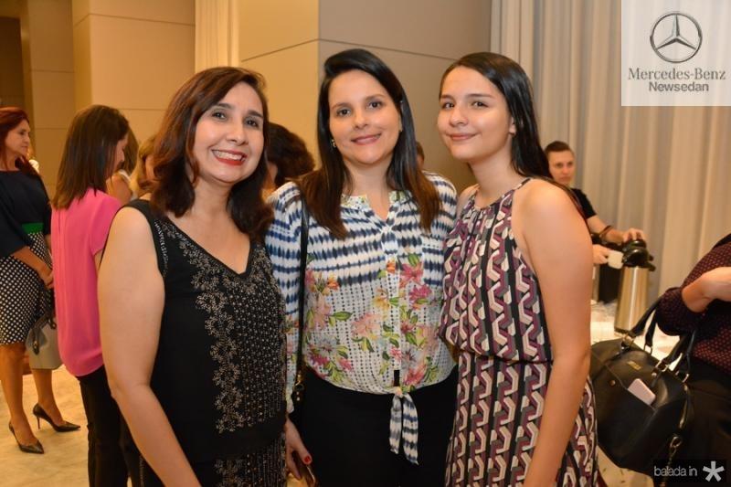 Neila Fontenele, Ana Carolina e Beatriz Vilar