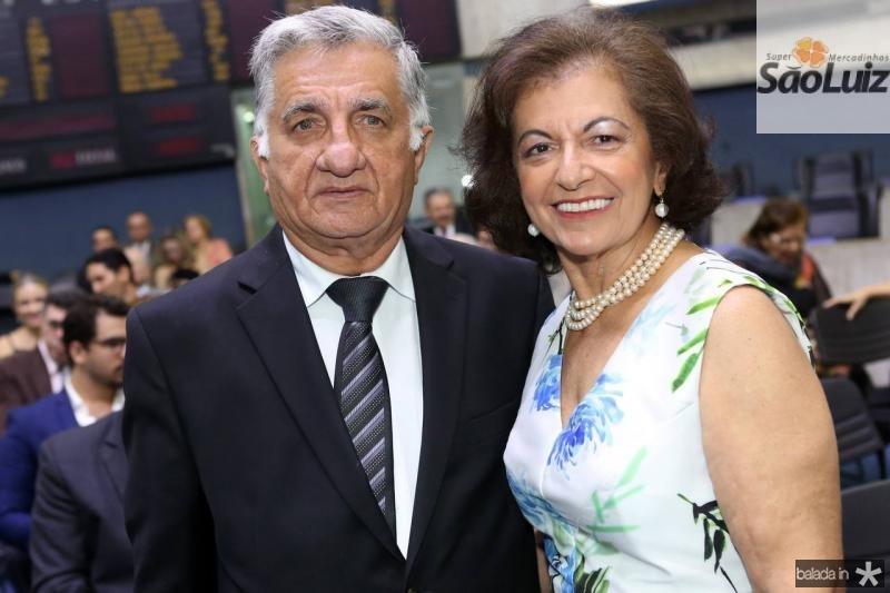 Sergio Armano e Maria Ines Benevides