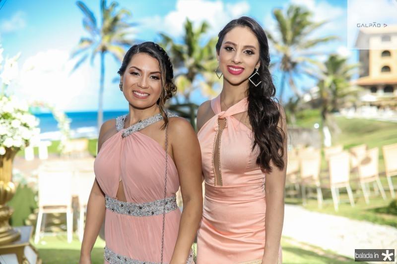 Fernanda Cantaniede e Andressa Rebouças