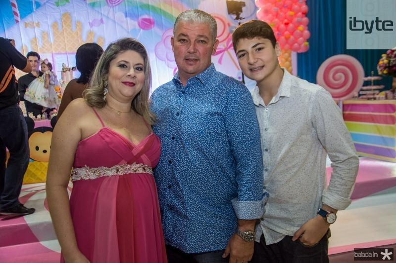 Liana Aragao, Enio Arruda e Enio Filho