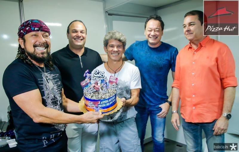 Bell Marques, Enio Cabral, Carvalho Junior, Pedro Coelho e Eliseu Barros