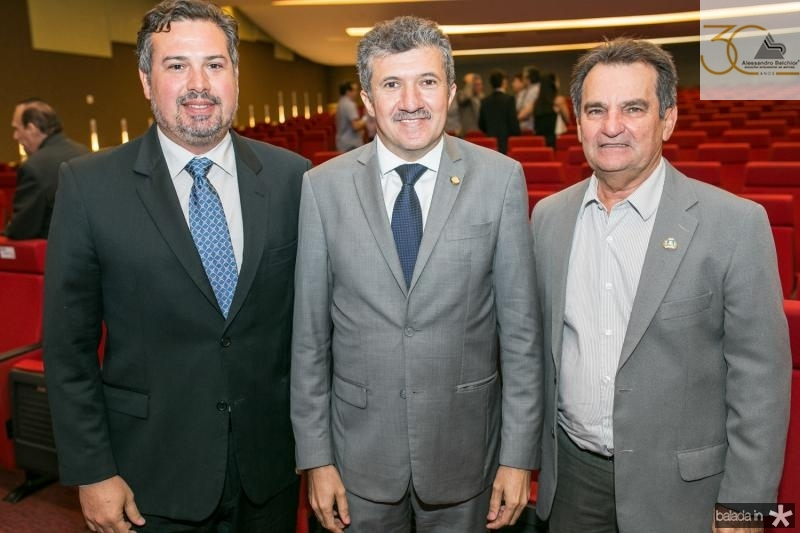 Samuel Dias, Antonio Henrique e Felipe Nottingham