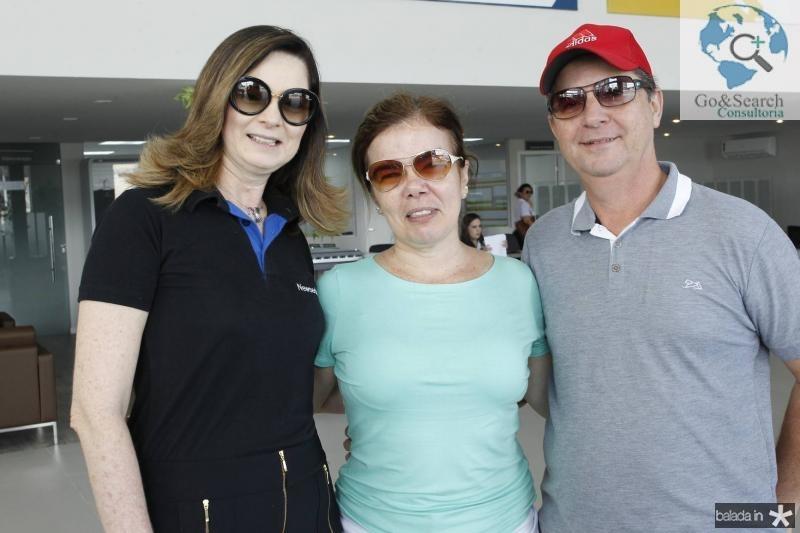 Ana Pinheiro, Daniele Fontenele e Julio Cesar