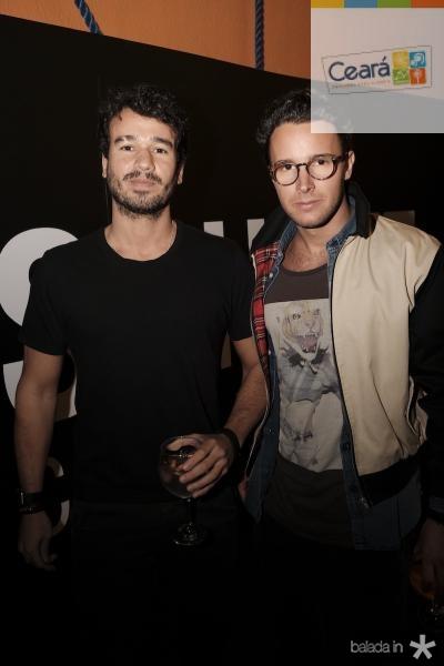 Jaime Andrade e Enrico Beer Boimont (