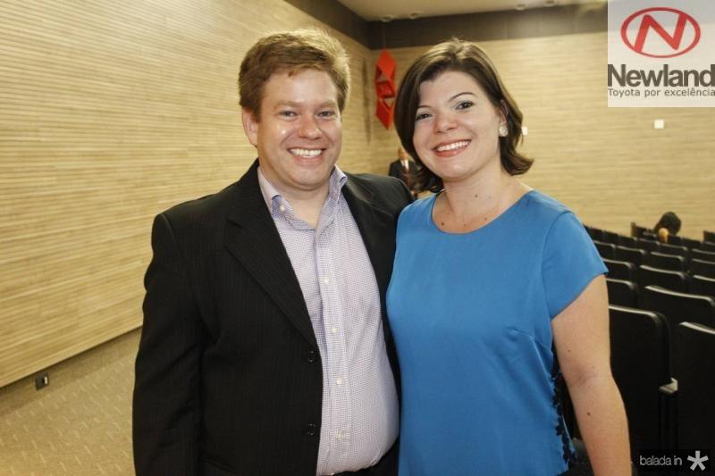 Daniel Wanderley e Heloisa Freitas