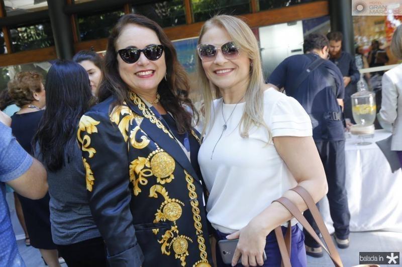 Ana Luiza Costa Lima e Michele Honorio