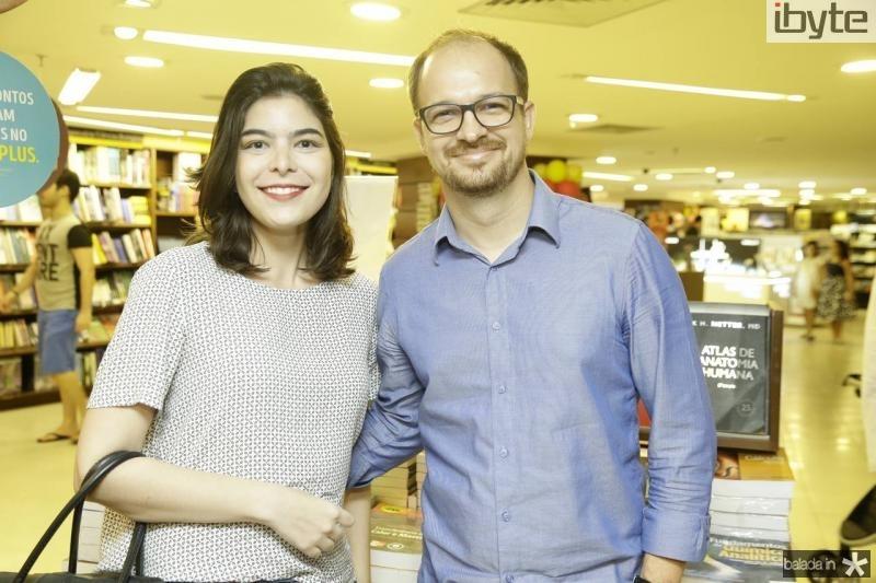Raquel Maia e Daniel Aderaldo