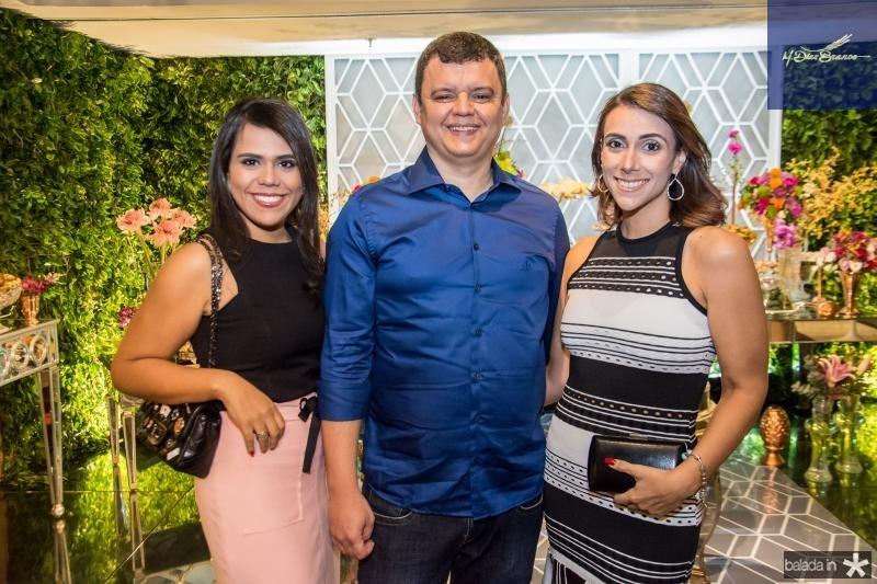 Isabele fernandez, Moises Castro e Irabela Fernandez