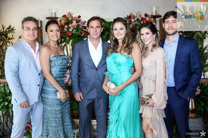 Adriano e Renata Gurgel,Lucas e Raissa Diniz,Renata e Flavio Dumares