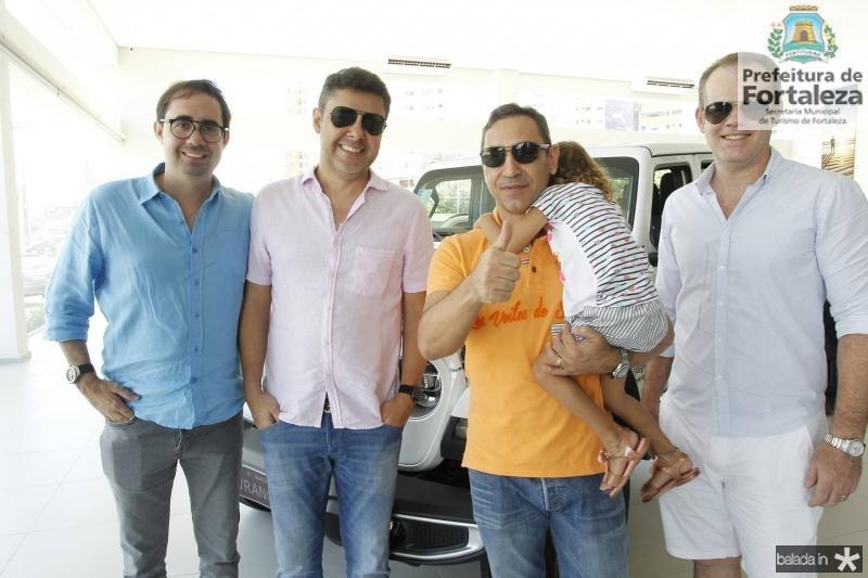 Pedro de Castro, Gustavo Cruz, Ronaldo Munhoz e Celio Junior