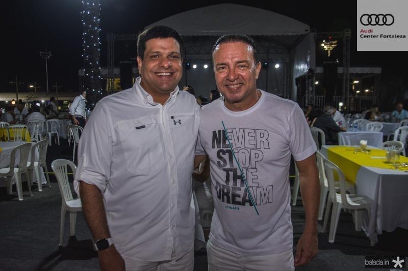 Duda Soares e Werner Rolim