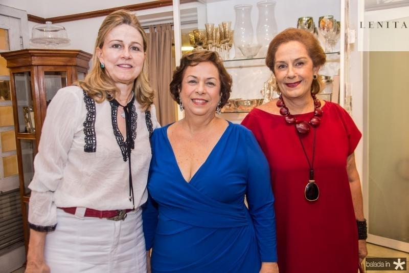 Eliane Machado, Julia Gurjao e Tida Leal