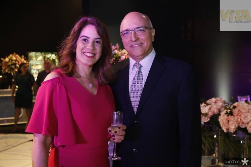 Cristina Maia e Felipe Barroso