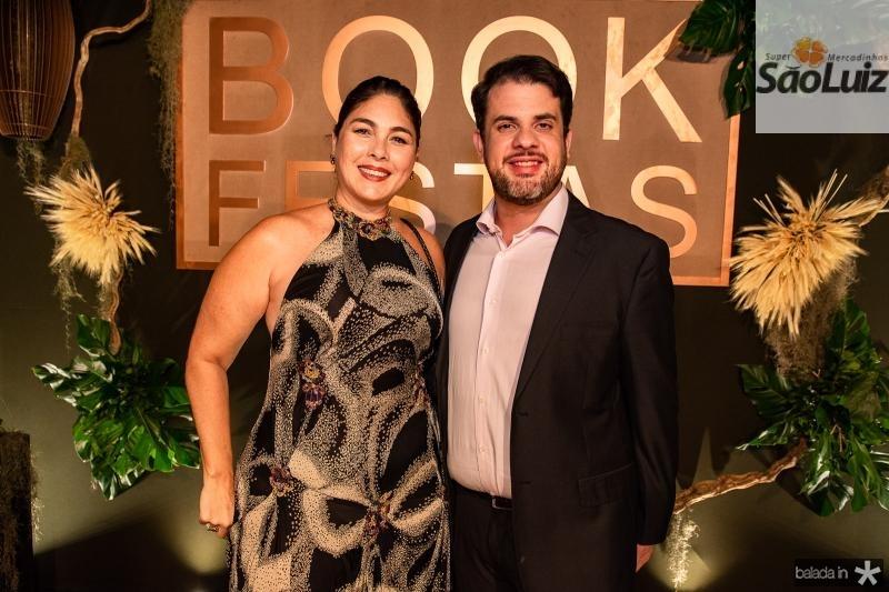 Isabela Fiuza e Lucas Brasil