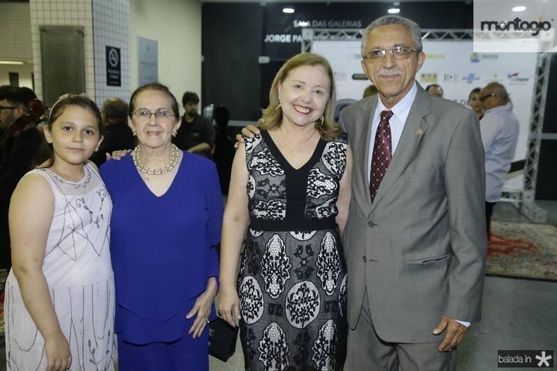 Beatriz e Zenilde Matoso, Lucia e Clodionor Araujo