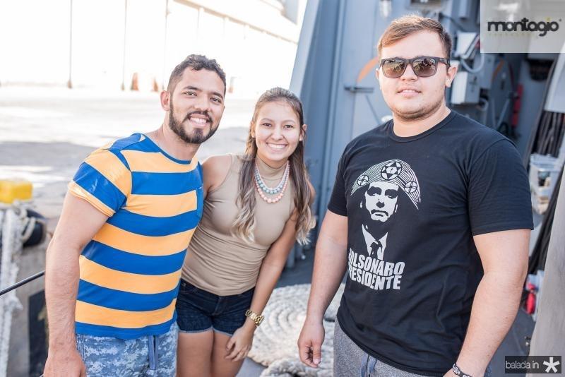 Alisson Marinho, Paloma Almeida e Diego Melo