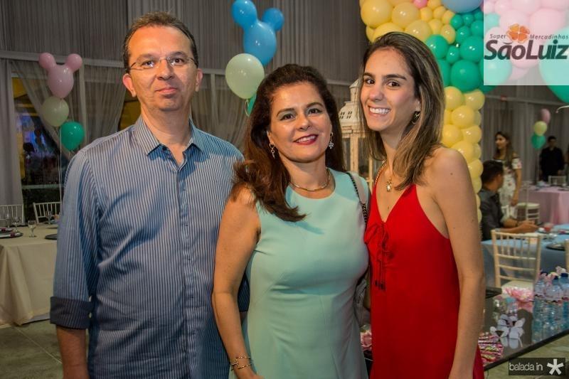 Marco, Marcia e Vanessa Oliveira
