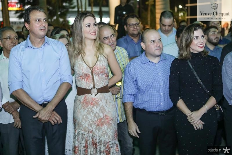Camilo e Onelia Santana, Roberto Claudio e Carol Bezerra