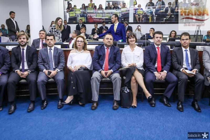 Claudio Nelson, Erick Vasconcelos, Marcia Dias, Moacir Maia, Manoela Nogueira, Ferruccio Feitosa e Marcelo Pinheiro